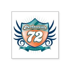 "Perfecville72_light Square Sticker 3"" x 3"""