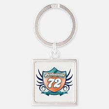 Perfecville72_light Square Keychain