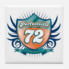 Perfecville72_Dark Tile Coaster