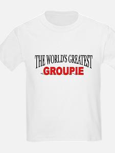 """The World's Greatest Groupie"" Kids T-Shirt"
