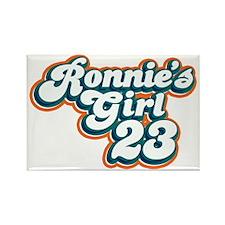 ronnies_girl_dark Rectangle Magnet