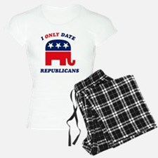 i_only_date_republicans_dar Pajamas