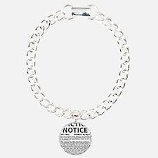 Baby Eviction Notice Bracelet
