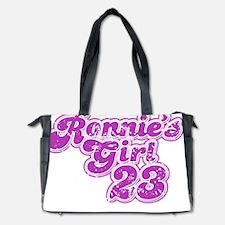 ronnies_girl2_distressed_dark Diaper Bag