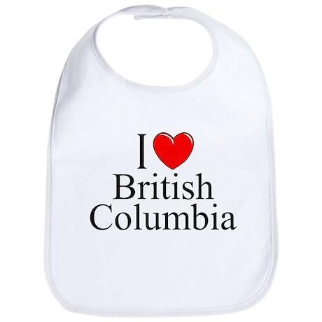 """I Love British Columbia"" Bib"