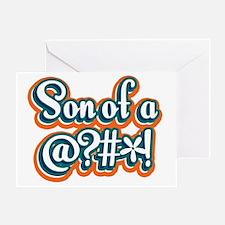 SonOfA_Dark Greeting Card