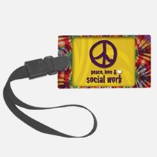 PeaceMagnet Luggage Tag