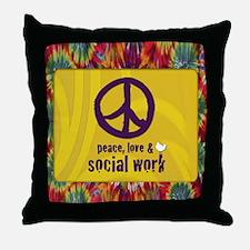 PeaceCalendar Throw Pillow