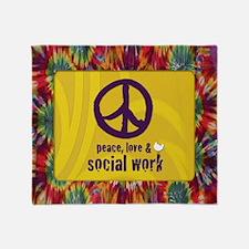 PeaceCalendar Throw Blanket