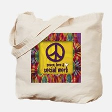 3-PeaceLogo Tote Bag