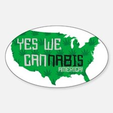 yesweCANNABIS-America Decal