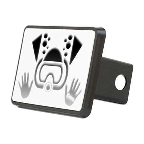 IDIVE BW 2010 4DRK Rectangular Hitch Cover