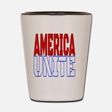 Current events Shot Glass