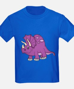 Cute Purple Dinosaur T-Shirt