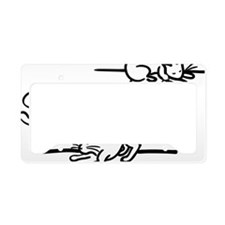 spcaLA Cats License Plate Holder