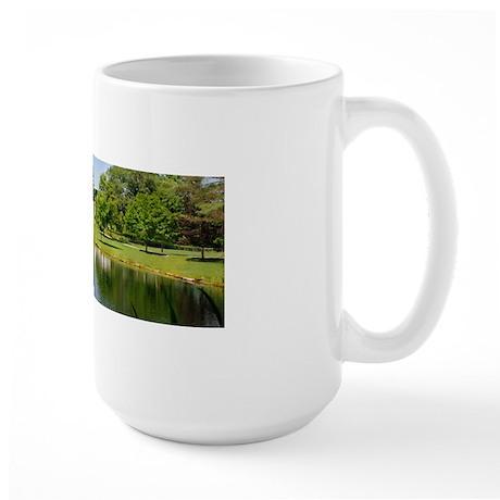 KMS_Pond_2010_Print Large Mug