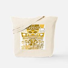 TikiTeeStencil12x12W Tote Bag