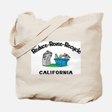 Recycle California Tote Bag