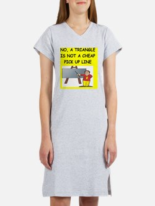 math geometry gifts t-shirts Women's Nightshirt