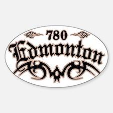 Edmonton 780 Sticker (Oval)