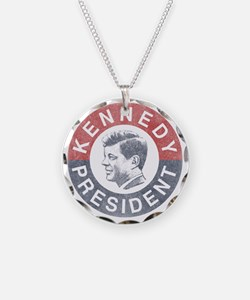kennedypresident1960-nobg co Necklace