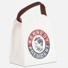 kennedypresident1960-nobg copy Canvas Lunch Bag