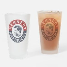 kennedypresident1960-nobg copy Drinking Glass