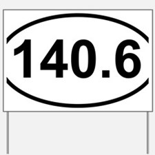 New 140 Oval logo Yard Sign