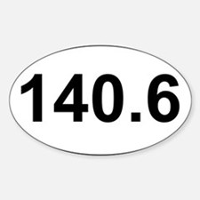 New 140 Oval logo Decal