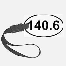 New 140 Oval logo Luggage Tag