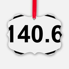 New 140 Oval logo Ornament