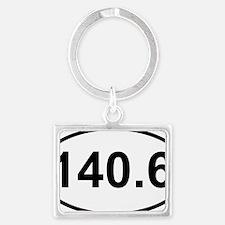 New 140 Oval logo Landscape Keychain