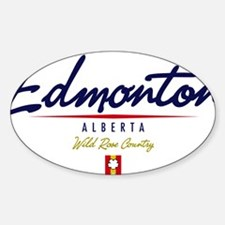 Edmonton Script W Decal