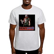 brave-liver-TIL T-Shirt