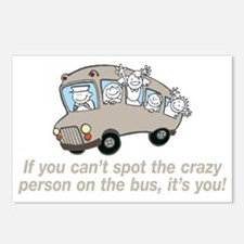 CRAZY BUS Postcards (Package of 8)