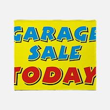 garage sale today Throw Blanket