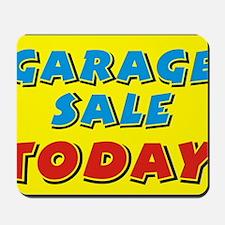 garage sale today Mousepad