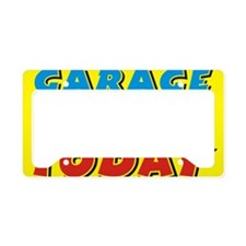 garage sale today License Plate Holder