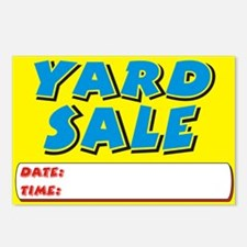 yard sale dt Postcards (Package of 8)