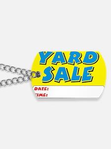 yard sale dt Dog Tags