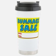 rummage sale dt Travel Mug