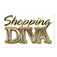 Shoping Diva_Light Postcards (Package of 8)
