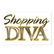 ShoppingDiva_Dark Postcards (Package of 8)