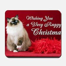Maddie Christmas Card Mousepad