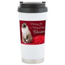 Maddie Christmas Card Travel Mug
