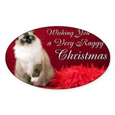 Maddie Christmas Card Decal
