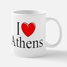 """I Love Athens"" Mug"