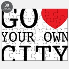 go love your own city Puzzle