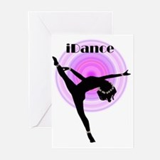"""iDance"" Purple Rainbow Greeting Cards (Package of"