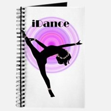 """iDance"" Purple Rainbow Journal"